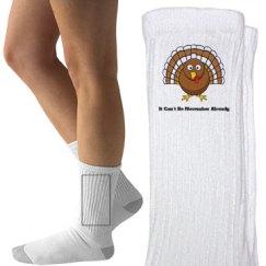 Thanksgiving Turkey Socks