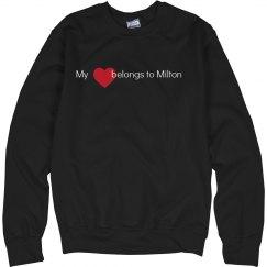 Heart belongs to Milton