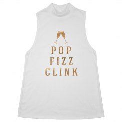 Metallic Pop Clink Fizz Party