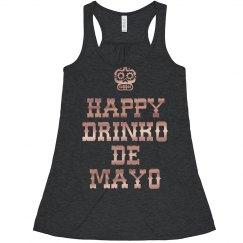 Metallic Drinko De Mayo Crop