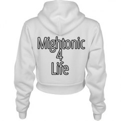 Mightonic Crop Hoodie