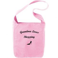 Grandma loves shopping