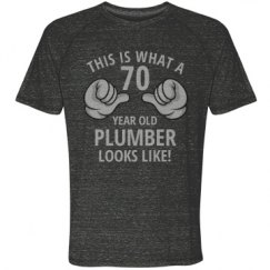 70 year old plumber