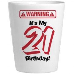21st Birthday Shots