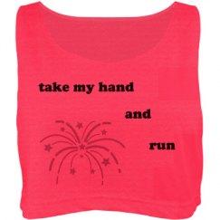 take my hand and run