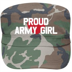 Proud Army Girl