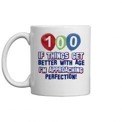 100 birthday design