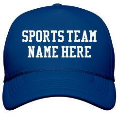 Custom Sports Team Snap Back