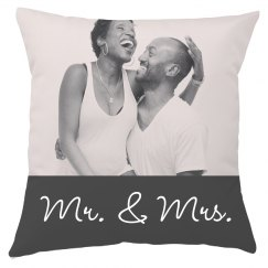 GREAT WEDDING GIFT! Customize This Pillow!