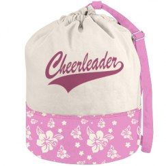 Cheerleader Duffle Bag