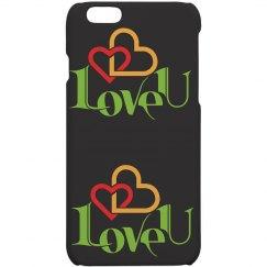 Elegant Love iPhone case