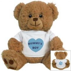 Mummy's Boy Plush Bear