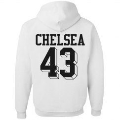 Trendy Volleyball Player Girl With Custom Name Numbers