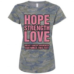 Hope Strength Love Cancer