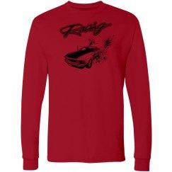 Racing - Burnout Speed - Unisex Sweatshirt - Red