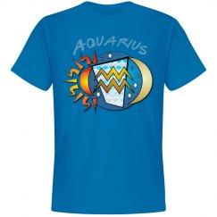 Aquarius Birth Sign Tee