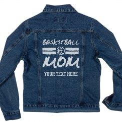 Custom Trendy Basketball Mom