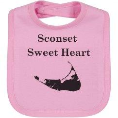 Sconset Sweet Heart Bib