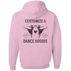 Custom Ballet Hoodie Crop
