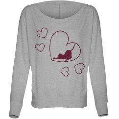 Cat Love Sweatshirt