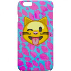 Hot Pink Cheetah Emoji