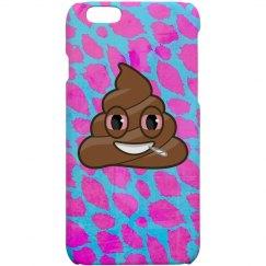 Pink Cheetah Emoji Weed Case