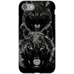 Wolf Night iPhone Case