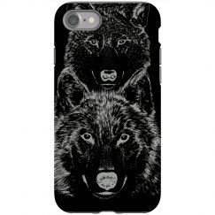 Wolf Night iPhone Case