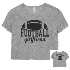 Her Custom Football Crop