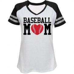 Sporty Trendy Baseball Mom