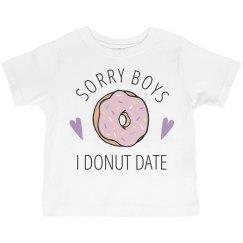 Funny Little Girls Valentine Shirt
