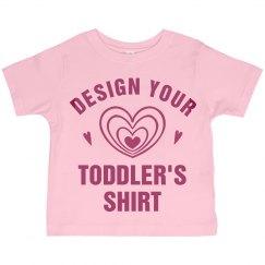 Personalized Toddler Girls Shirts