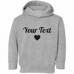 Personalized Toddler Hoodie Gift