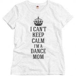 I'm a dance mom