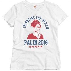 I'm Voting Palin 2016