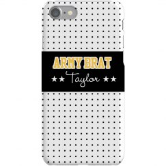 Army Brat iPhone Case