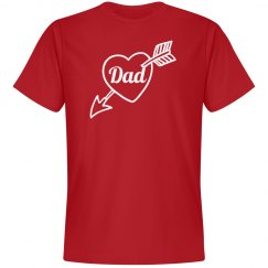 Dad Valentine shirt