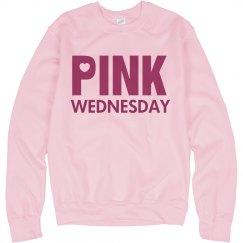 Pink Wednesday Sweatshirt