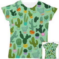 Cactus All Over Print Women's Tee