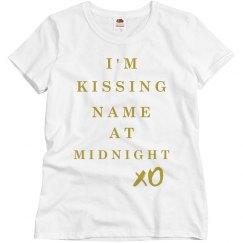 New Years Kiss Matching Pajamas