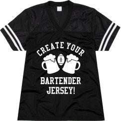 Custom Bartender Jersey