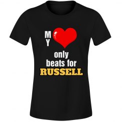 Heart beats for Russell