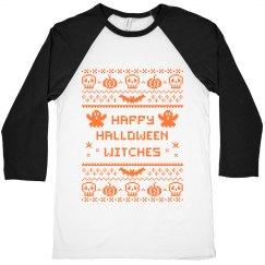 Halloween witches crop top