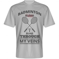 Badminton blood runs through my veins