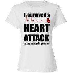 Heart Attack Survivor Shirt