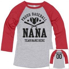 Proud Baseball Nana