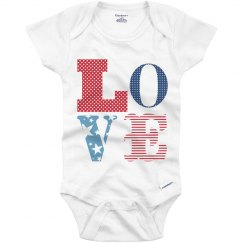 Trendy Baby USA Love
