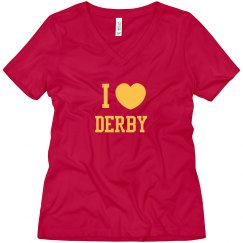 I Heart Derby Women's Shirt