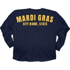 Custom City Mardi Gras Jersey