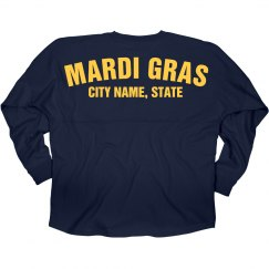 Custom City Mardi Gras Jersey